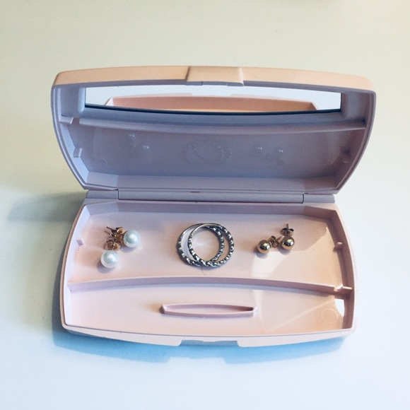 Mary Kay Jewelry Vintage Compact Blush Pink Box Poshmark